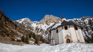 Chapelle Notre Dame des Vernettes in Peisey-Vallandry