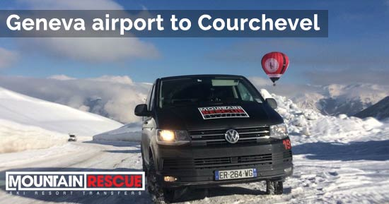 Geneva airport to Courchevel transfers