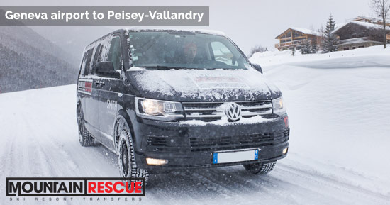 Geneva to Peisey-Vallandry transfers