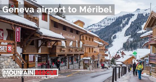 Geneva to Méribel airport transfers