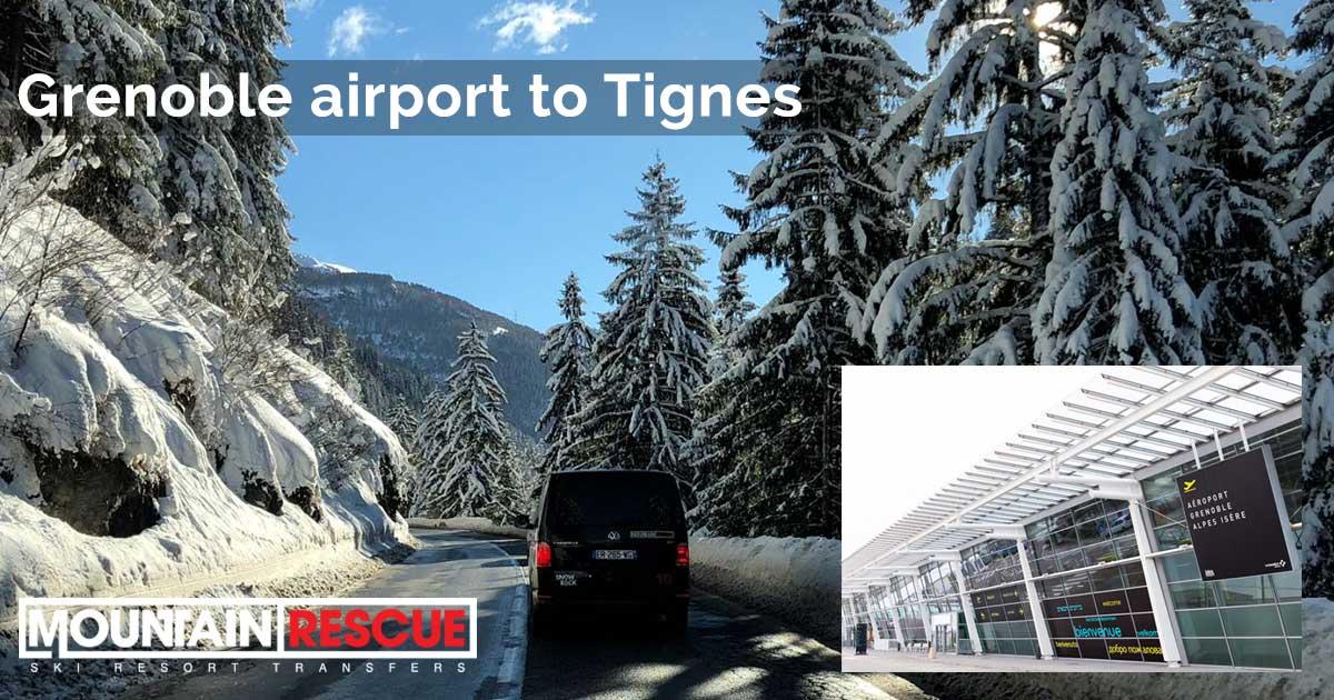 Grenoble to Tignes - transfers through the mountains