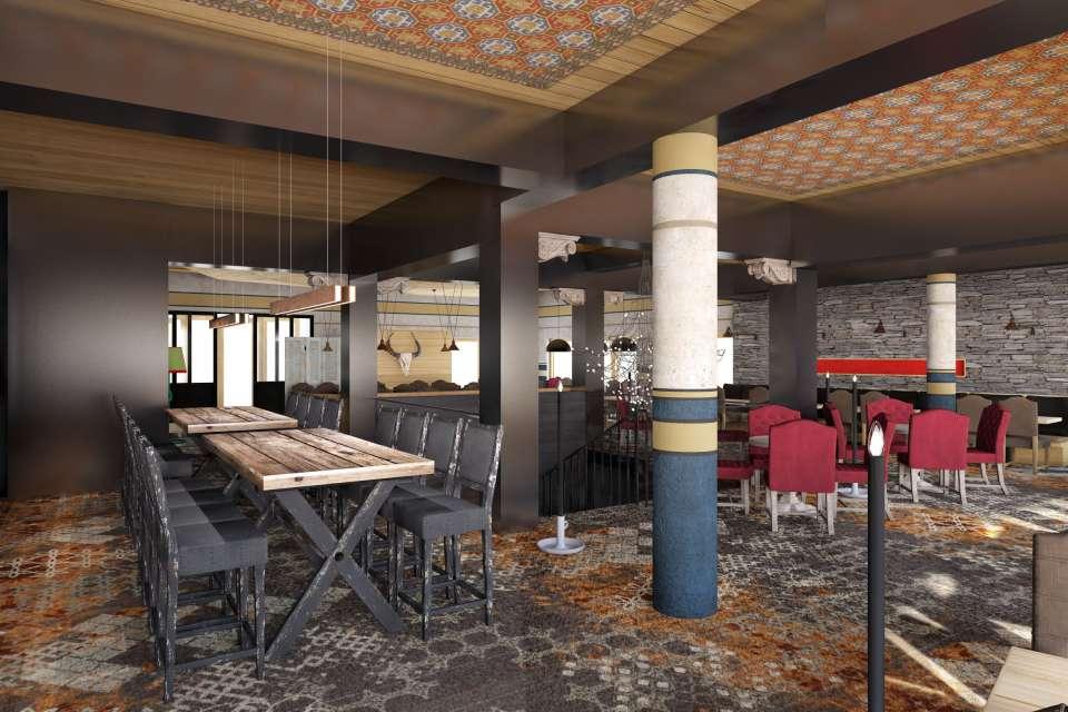 Hotel Taj I Mah Restaurant