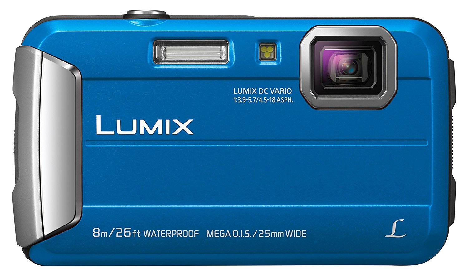 Blue camera Panasonic Lumix