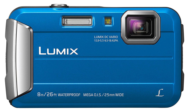 Blue camera Panasonic Lumix