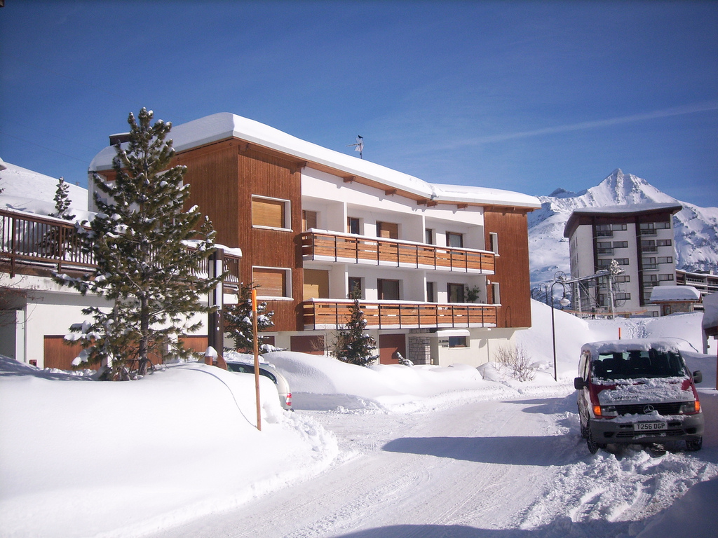 ski apartment in Tignes