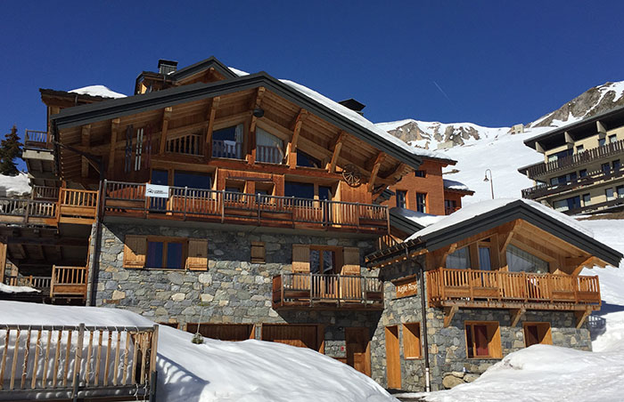 Chalets in Tignes