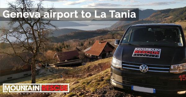 Geneva airport to La Tania