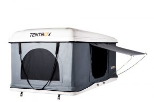 White Tentbox open