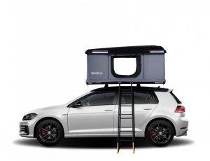 tentbox on a car