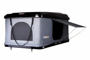 Tentbox side view door open